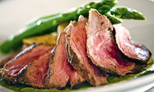 Water's Edge Restaurant: Dinner and Wine for Two or Four at Water's Edge (Up to 49% Off)