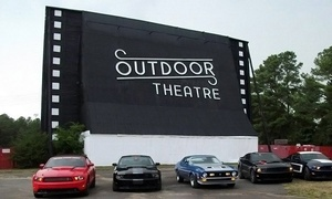 Raleigh Road Outdoor Theatre: Drive-In Movie Package for Two or Up to Seven at Raleigh Road Outdoor Theatre (Up to 49% Off)