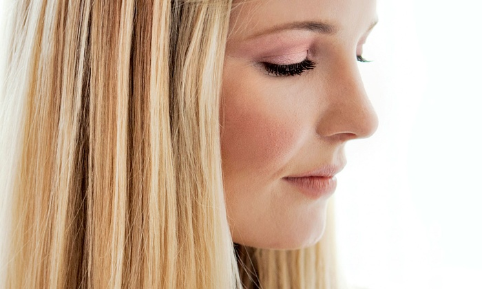 Chelsey at Simply You - Bridgewater: Haircut with Blow-Dry, Style, and Optional Single-Process Color or Highlights with Chelsey at Simply You (Up to 53% Off)