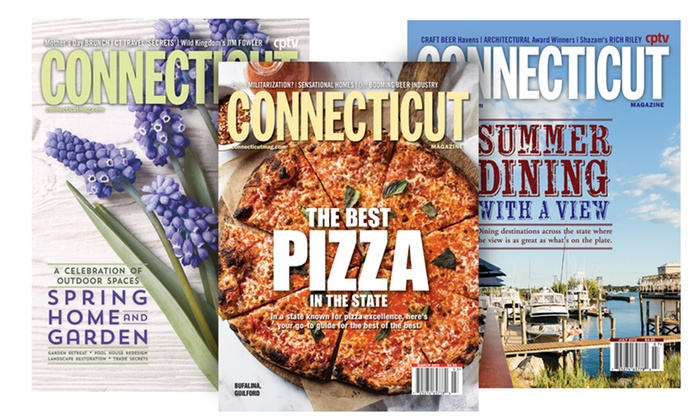"Connecticut Magazine: One- or Two-Year Subscription to ""Connecticut Magazine"" (Up to 55% Off)"
