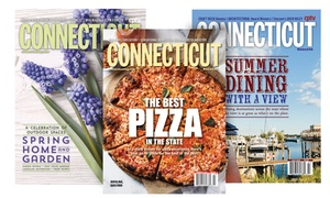 """Connecticut Magazine: One- or Two-Year Subscription to """"Connecticut Magazine"""" (Up to 55% Off)"""