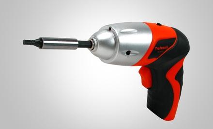 Stalwart 25-Piece 4.8V Cordless Screwdriver Kit