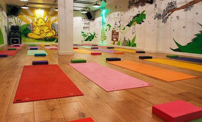 image for Five Sessions of Hot Yoga at 121 Urban Hot Yoga (73% Off)