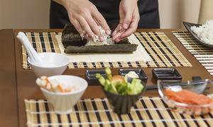 MTPLUS: Curso teórico-práctico de sushi con degustación para una o dos personas desde 19,90 € junto a Plaça Universitat