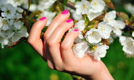 $34.99 for an Ultimate Shellac Mani with Hand Paraffin at Serenity Spa & Massage ($57 Value)