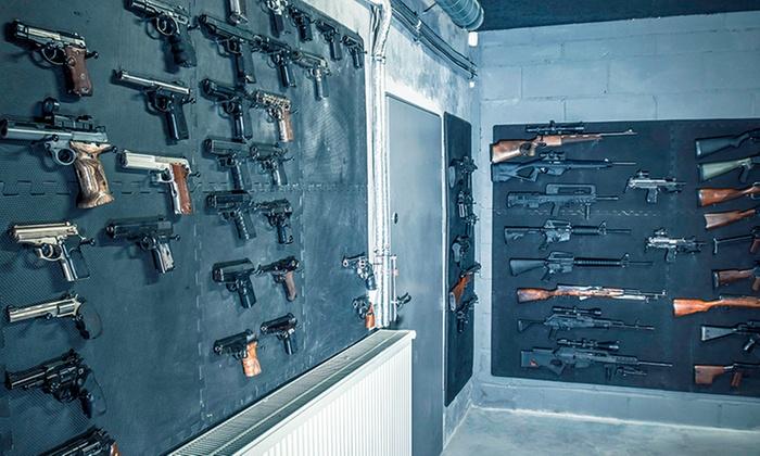 PM Shooter - Wojnicka: Godzinne wejście na strzelnicę z opieką instruktora, amunicją i szkoleniem od 99,99 zł w PM Shooter