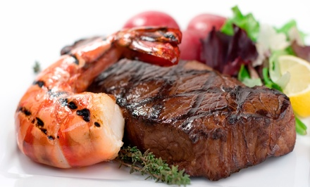 Steak-House Food for Lunch, or Dinner for Two or More at Frisco's (Up to 38% Off)