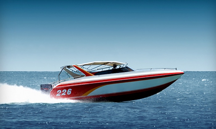 Beach Island Marina - Beach Island Marina: One-Day Ski-Boat Rental with Optional Tube from Beach Island Marina (50% Off)