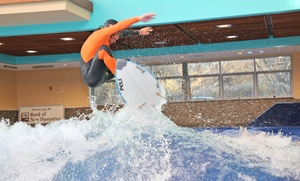 Surf's Up: Indoor Surfing or Boogie Boarding for One or Two at Surf's Up (Up to 33%  Off)