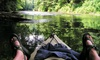 RiverGirl Fishing Co - Elk: Three-Hour Eco Kayak Tour with Lunch for One, Two, or Five from RiverGirl Fishing Company (Up to 58% Off)