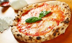 Cuore di mozzarella: Menu da asporto con antipasto, pizza e bibita a scelta (sconto fino a 71%)