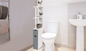 Meuble rangement toilettes