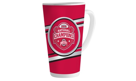 NCAA Ohio State Buckeyes 2014 National Football Champions 16oz. Latte Mug