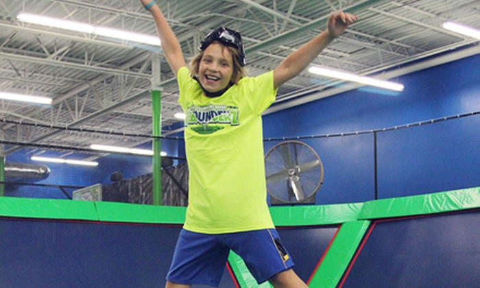 Rebounderz - Hurst Plaza: Two Hours of Jump Time for Two or Four at Rebounderz (Up to 52% Off)
