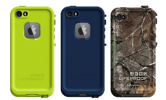 cheap lifeproof cases for iphone 5s lifeproof for iphone 5 5s groupon goods 18346