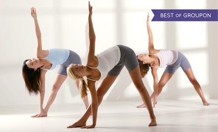 One or Two Months of Unlimited Hot Yoga Classes at The Yoga Center (Up to 57% Off)