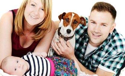 £15 for a Family Photoshoot with a Framed Photo and Six Prints at Hidden Gem Photography Studio