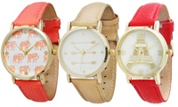 GROUPON: Women's Novelty Watches Women's Novelty Watches