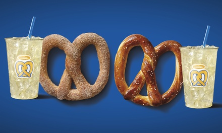 Soft Pretzels and Lemonade at Auntie Anne's (44% Off). Two Options Available.