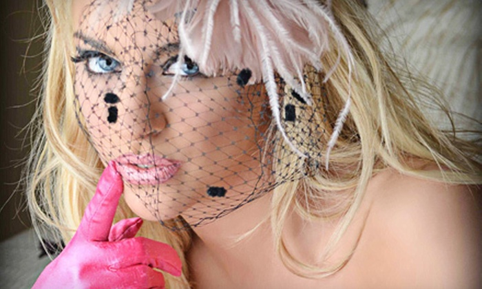 Spoil Me Silly - Buffalo: $74 for a Boudoir Photo-Shoot Package with Makup and Image CD at Spoil Me Silly ($149 Value)