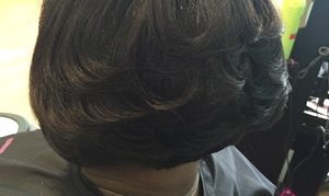 Embrace U Salon - Chevron Harris: Up to 57% Off Hair Services at Embrace U Salon - Chevron Harris