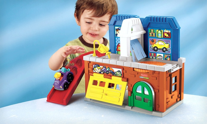 Fisher-Price Wheelies Stow 'n Tow Garage: $15 for a Fisher-Price Little People Wheelies Stow 'n Tow Garage ($21 List Price). Free Shipping and Free Returns.