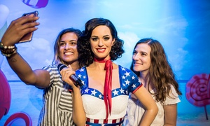 Up to 50% Off Admission to Madame Tussauds  at Madame Tussauds Nashville, plus 6.0% Cash Back from Ebates.