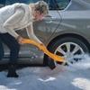 True Temper Autoboss Snow Shovel and Traction Aid Combo Kit