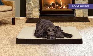 Furhaven Nap Orthopedic or Memory Foam Pet Bed: Furhaven Nap Orthopedic or Memory Foam Pet Bed
