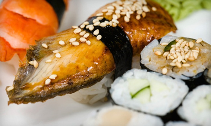 Silhouette - Downtown: Sushi and Japanese Cuisine for Dinner at Silhouette (Up to 53% Off). Two Options Available.