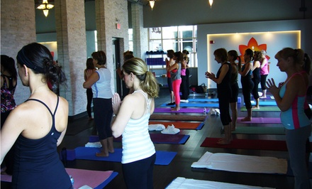 10 Yoga Classes or One or Two Months of Unlimited Yoga Classes at Sky Fitness (67% Off)