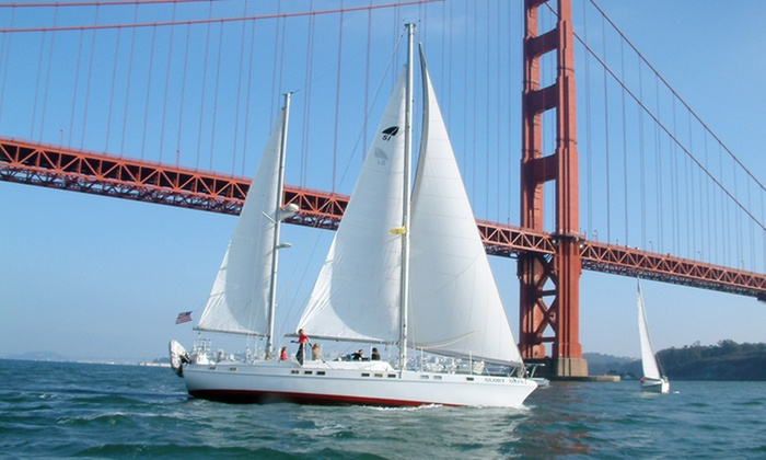 Bay Breeze Charters - Sausalito: $40 for Two-Hour Sunset, Full-Moon, or Afternoon Cruise for Two from Bay Breeze Charters ($80 Value)