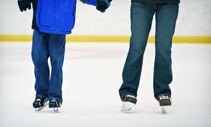 Joel Coliseum Annex Ice Rink - Winston-Salem: Ice Skating for 2, 4, or 10 at the Joel Coliseum Annex Ice Rink (Up to 58% Off)