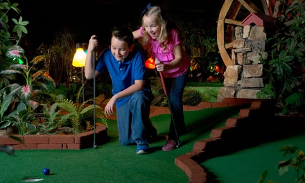 18-Hole Round of Indoor Mini Golf for Two or Four at Grand Country (Up to 50% Off)