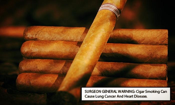 Casablanca Smoke Dreams - Forest Ridge Park: Three-or Six-Stick Cigar Sampler at Casablanca Smoke Dreams (Up to 64% Off)