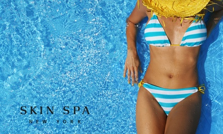 One or Three Women's Brazilian Waxes or $50 for $100 Worth of Waxing Services at Skin Spa New York