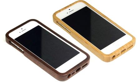 Cover in bambù per iPhone
