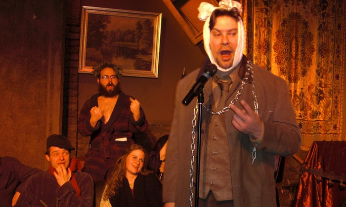 Comedy Roast of Mr. Scrooge - Cabaret Theater at Camp Bar: Comedy Roast of Mr. Scrooge (December 10–19)