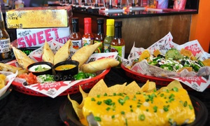 Tijuana Flats: Dine-In or Take-Out Tex-Mex Food at Tijuana Flats (Up to 45% Off). Four Options Available.