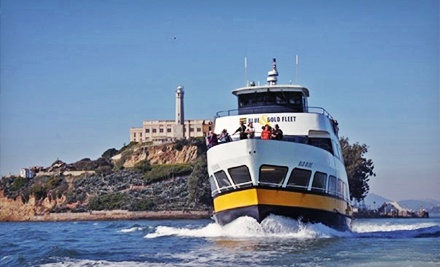 $36 for a 90-Minute Escape from the Rock Cruise Around Alcatraz for Two from Blue & Gold Fleet (Up to $72 Value)