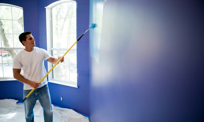 T&M Home Improvements - Washington DC: Painting for One or Two Rooms Up to 200 Square Feet Each from T&M Home Improvements (Up to 74% Off)