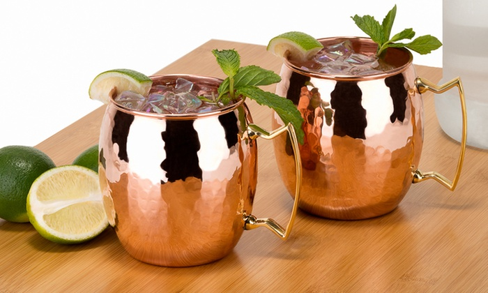 Set Of 2 Old Dutch 16 Oz Copper Moscow Mule Mugs Groupon
