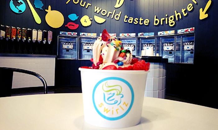 Swirlz Yogurt Bar - Dacula-Rocky Creek: $12 for 4 Vouchers for Frozen Yogurt at Swirlz Yogurt Bar ($24 Value)