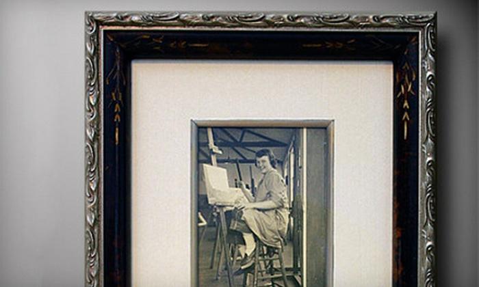 Framed by Kosal - Monroe: $39 for $100 Worth of Custom Framing at Framed by Kosal