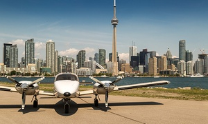 Greater Toronto Airways: CC$149 for a 100km Aerial Tour of Toronto for Two with Champagne at Greater Toronto Airways (CC$350 Value)