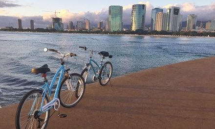 Diamond Head, Park Picnic, or Dolphins and Tea Tour for One or Two from Waikiki Bike Tours (Up to 49% Off)