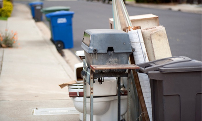 Load of Rubbish - London, ON: Quarter or Half Load of Junk Removal from Load of Rubbish (51% Off)