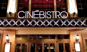 CineBistro Peninsula Town Center: $11 for Two Movie Tickets to CineBistro Peninsula Town Center ($22 Value)