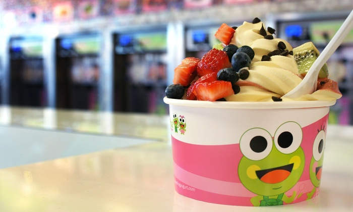 Sweet Frog Findlay - Findlay: $12 for Four Groupons, Each Good for $5 Worth of Frozen Yogurt at Sweet Frog ($20 Total Value)