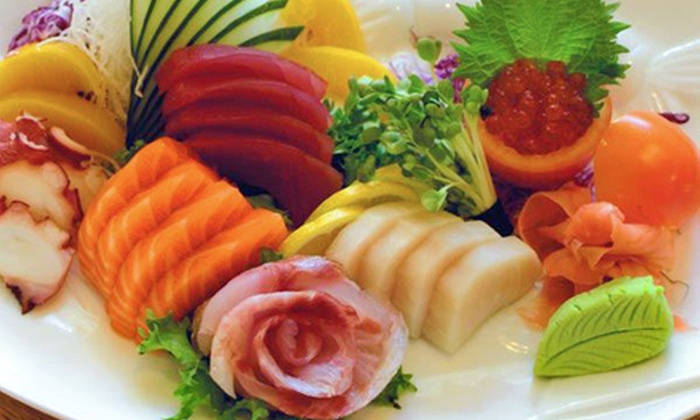 Tokyo Sushi - Multiple Locations: $16.50 for $30 Worth of Sushi and Hibachi Cuisine at Dinner at Tokyo Sushi